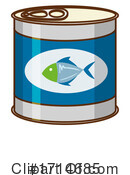 Tuna Clipart #1714685 by Graphics RF