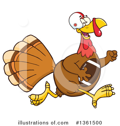 Thanksgiving Clipart #1361500 by Hit Toon