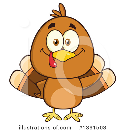 Thanksgiving Clipart #1361503 by Hit Toon