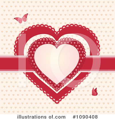 Heart Clipart #1090408 by elaineitalia