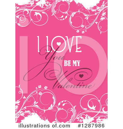 Valentines Day Clipart #1287986 by KJ Pargeter