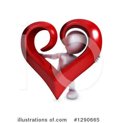 Valentines Day Clipart #1290665 by KJ Pargeter