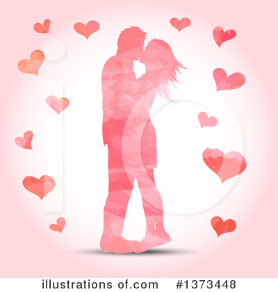 Valentines Day Clipart #1373448 by KJ Pargeter
