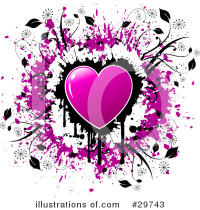 Royalty-Free (RF) Valentines Day Clipart Illustration by KJ Pargeter - Stock Sample #29743