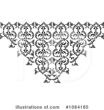 Victorian Design Elements victorian design elements clipart #1084185 - illustration