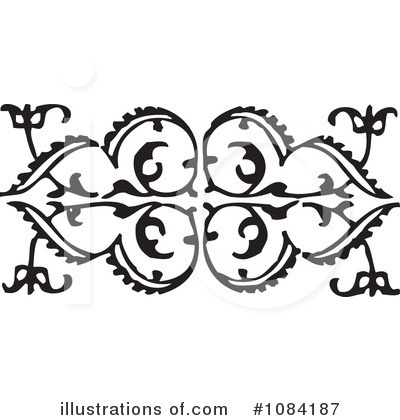 Victorian Design Elements victorian design elements clipart #1084187 - illustration