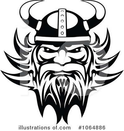 Viking Clipart #1064886 - Illustration by Vector Tradition SM