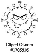 Virus Clipart #1705516 by Hit Toon