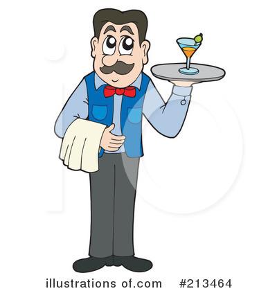 waiter clipart 213464 illustration by visekart rh illustrationsof com water clipart water clip art free download