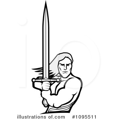 warrior clipart 1095511 illustration by bestvector rh illustrationsof com warrior clip art images clipart spartan warrior