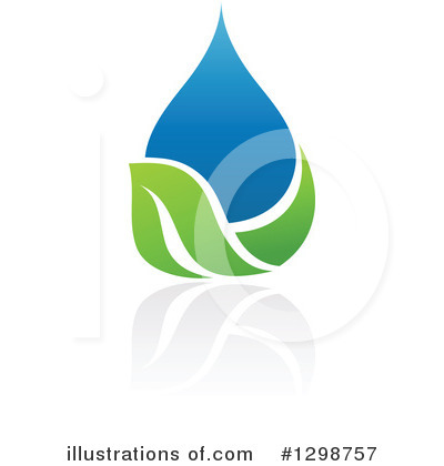 Waterdrop Clipart #1298757 by elena