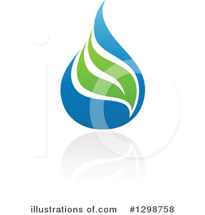 Waterdrop Clipart #1298758 by elena