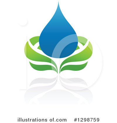 Waterdrop Clipart #1298759 by elena