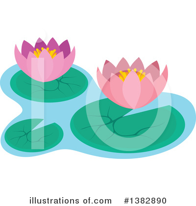 Flower Clipart #1382890 by visekart