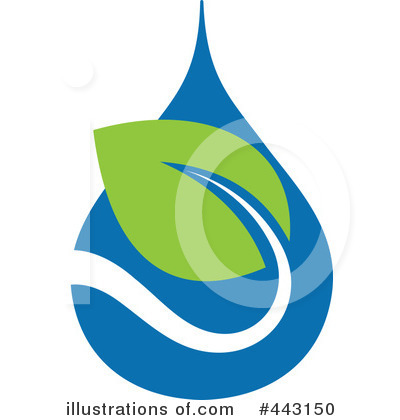 Royalty-Free (RF) Waterdrop Clipart Illustration by elena - Stock Sample #443150