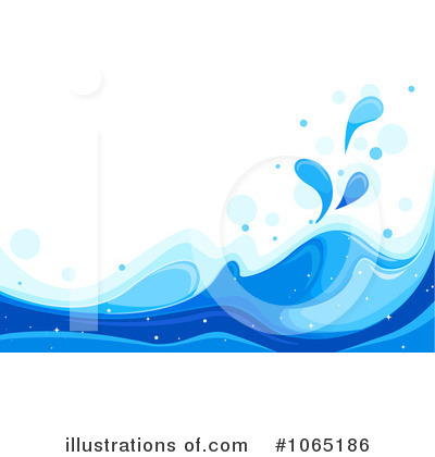 Waves Clipart #1065186 by BNP Design Studio