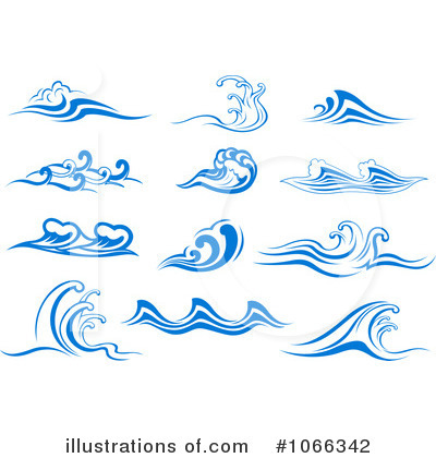 waves clipart 1066342 illustration by vector tradition sm rh illustrationsof com wave clip art free download tidal wave clip art free