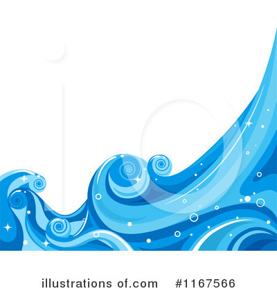 Waves Clipart #1167566 by BNP Design Studio