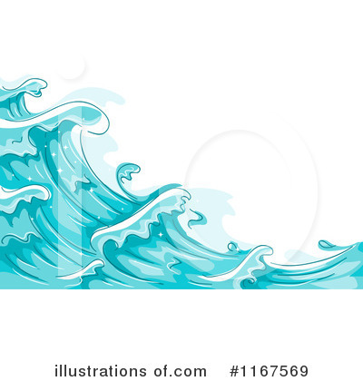 Waves Clipart #1167569 by BNP Design Studio