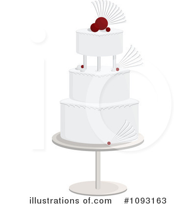 Wedding Cake Clipart #1093163 - Illustration by Randomway