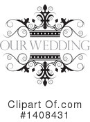 Wedding Clipart #1408431 by Lal Perera
