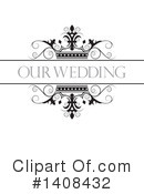 Wedding Clipart #1408432 by Lal Perera