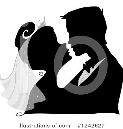 Couple Clipart #1242627 by BNP Design Studio
