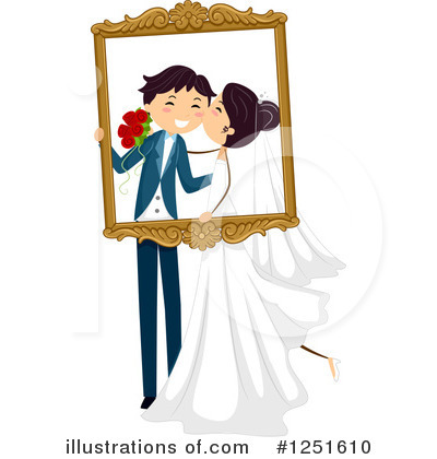 Wedding Clipart #1251610 by BNP Design Studio