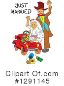 Wedding Couple Clipart #1291145 by pauloribau