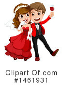 Wedding Couple Clipart #1461931 by Graphics RF
