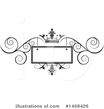 Wedding Frame Clipart #1408426 by Lal Perera