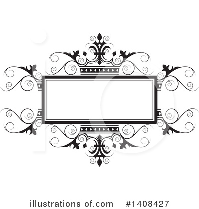Wedding Frame Clipart #1408427 by Lal Perera