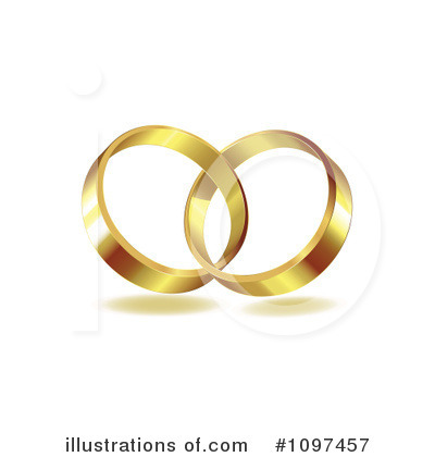 royalty free rf wedding rings clipart illustration 1097457 by merlinul - Wedding Rings Clipart