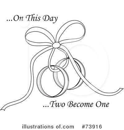 royalty free rf wedding rings clipart illustration by pams clipart stock sample - Free Wedding Rings