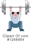 Weightlifting Clipart #1268954 by Lal Perera