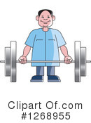 Weightlifting Clipart #1268955 by Lal Perera