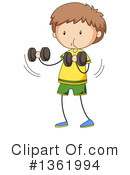 Weightlifting Clipart #1361994 by Graphics RF