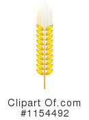 Wheat Clipart #1154492 by Vector Tradition SM