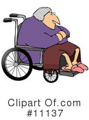 Wheelchair Clipart #11137 by djart