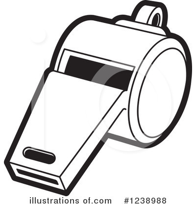 Whistle Clipart #1238988 - Illustration by Lal Perera
