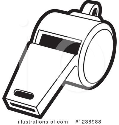 whistle clipart 1238988 illustration by lal perera rh illustrationsof com