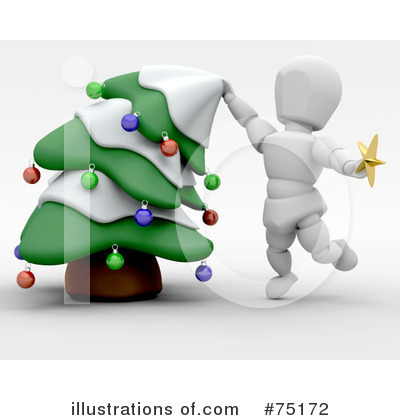 Christmas Tree Clipart #75172 by KJ Pargeter
