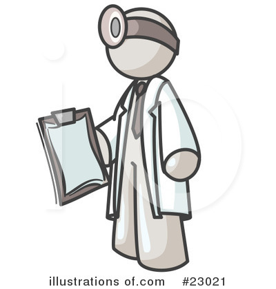 Surgeon Clipart #23021 by Leo Blanchette