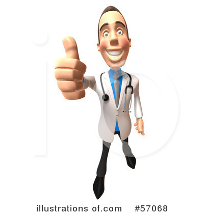 White Male Doctor Clipart #57068 by Julos