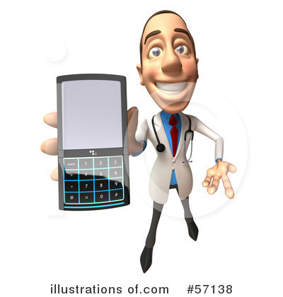 White Male Doctor Clipart #57138 by Julos