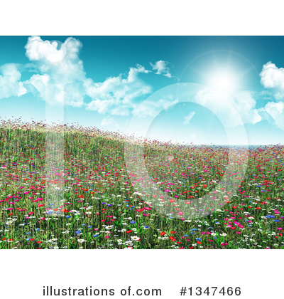 Spring Time Clipart #1347466 by KJ Pargeter