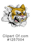 Wildcat Clipart #1257004 by AtStockIllustration