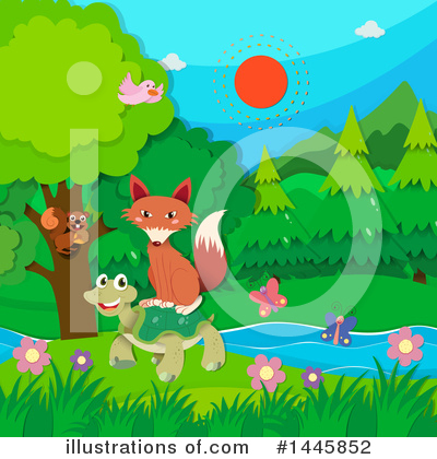 Fox Clipart #1445852 by Graphics RF
