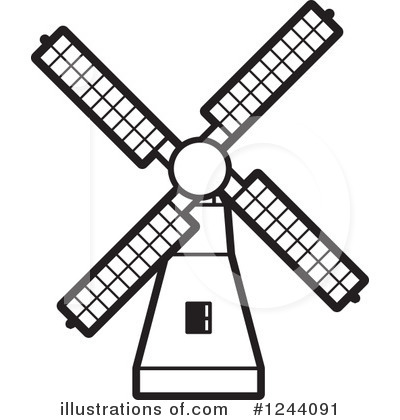 Clip Art Windmill Clipart windmill clipart 1244091 illustration by lal perera royalty free rf perera