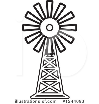Clip Art Windmill Clipart windmill clipart 1244093 illustration by lal perera royalty free rf perera
